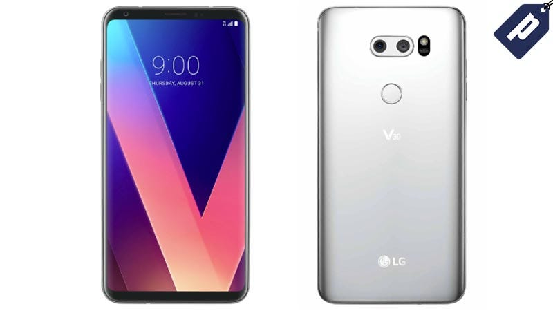 Illustration for article titled Buy One LG V30 Smartphone & Get A Second Free With A T-Mobile Plan