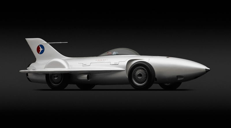 Illustration for article titled If Only The Actual Future Had Been As Cool As These Cars