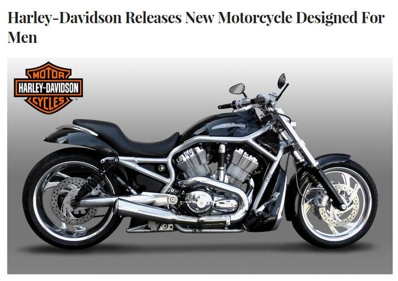 Illustration for article titled Good News Harley Fans!!