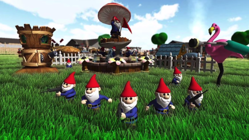 Canceled PS4 Game Would Have Let You Play Team Deathmatch As Gnomes
