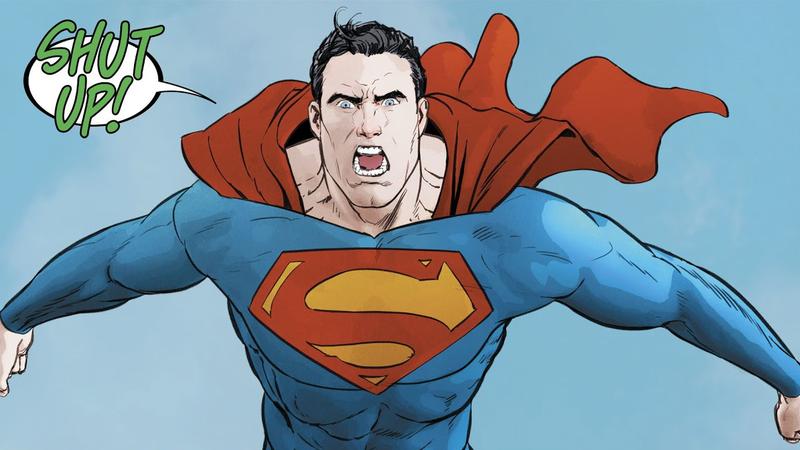 Superman under Poison Ivy's mind control.