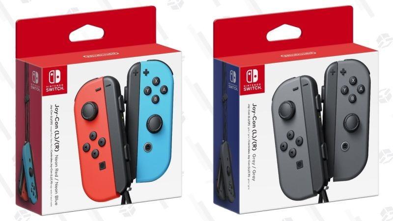 Nintendo Switch Joy Con - Gris   $65   AmazonNintendo Switch Joy Con - Neón   $65   AmazonGráfico: Shep McAllister