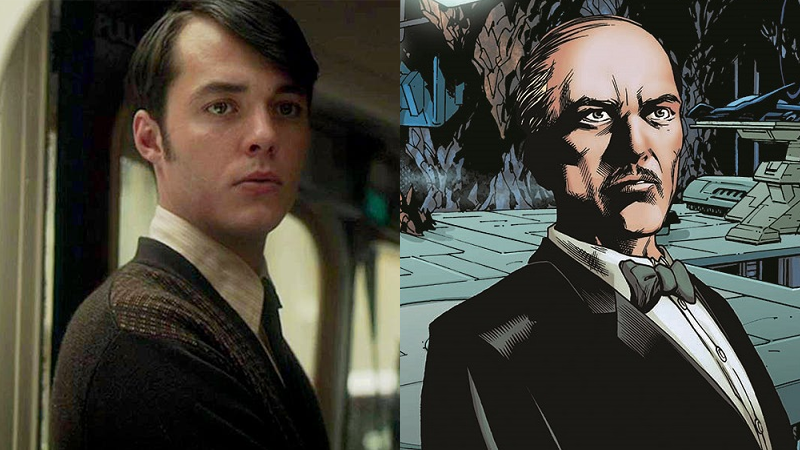 Bannon as he appeared in Ripper Street, and Alfred as we know and love him in the comics.