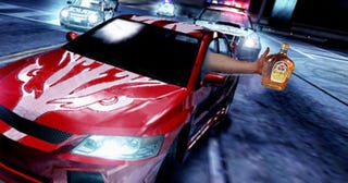 Illustration for article titled Xbox Racing Games To Combat Real-Life Drunk Driving