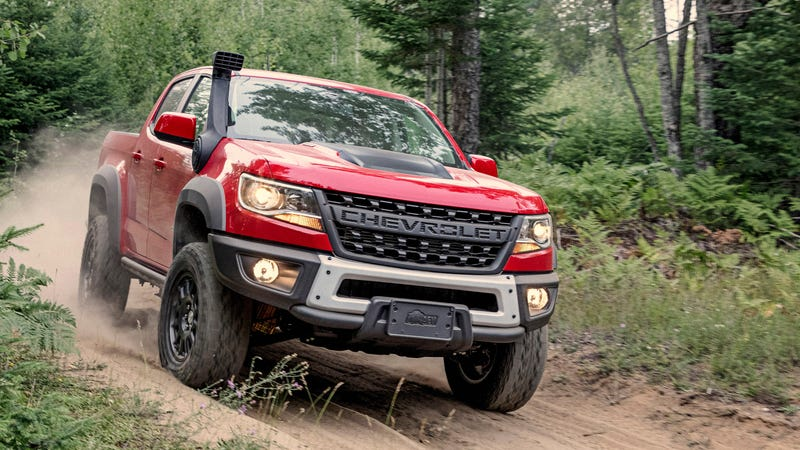 Illustration for article titled The 2019 Chevy Colorado ZR2 Bison Is a Plated Pickup to Power Through Anything