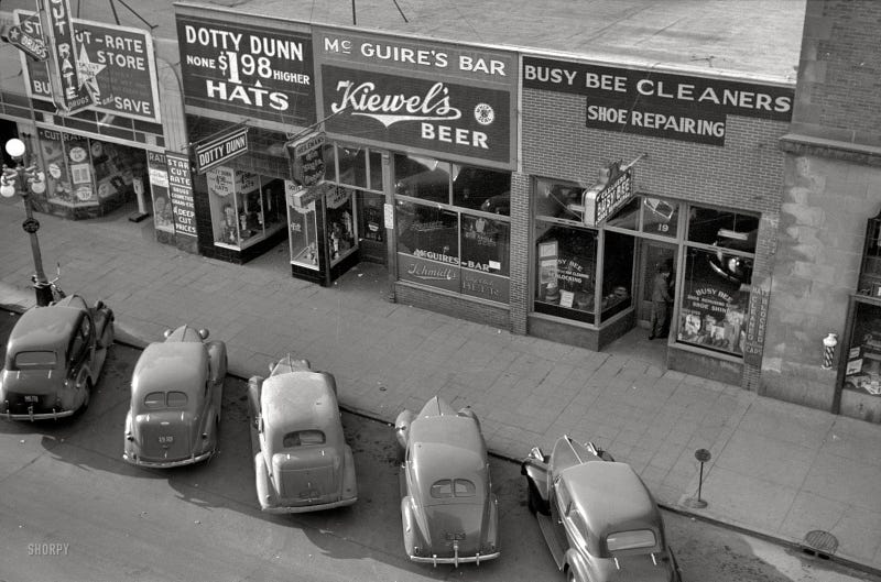 Grand Forks, ND, 1940 (Shorpy)