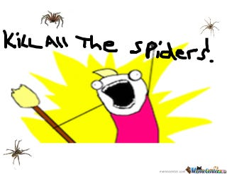 Illustration for article titled Spider nest!? Warning: Picture of Spider and Unidentified Object