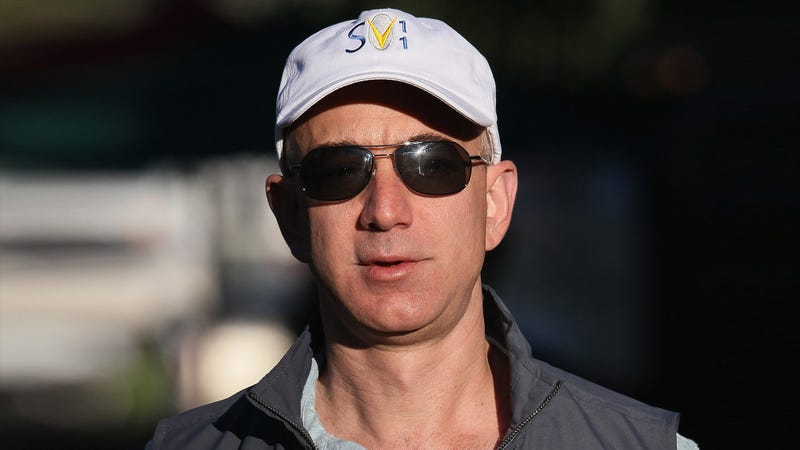 Illustration for article titled Caving To Blackmail: Jeff Bezos Has Shut Down 'The Washington Post' After 'The National Enquirer' Threatened To Publish Photos Revealing He's Bald