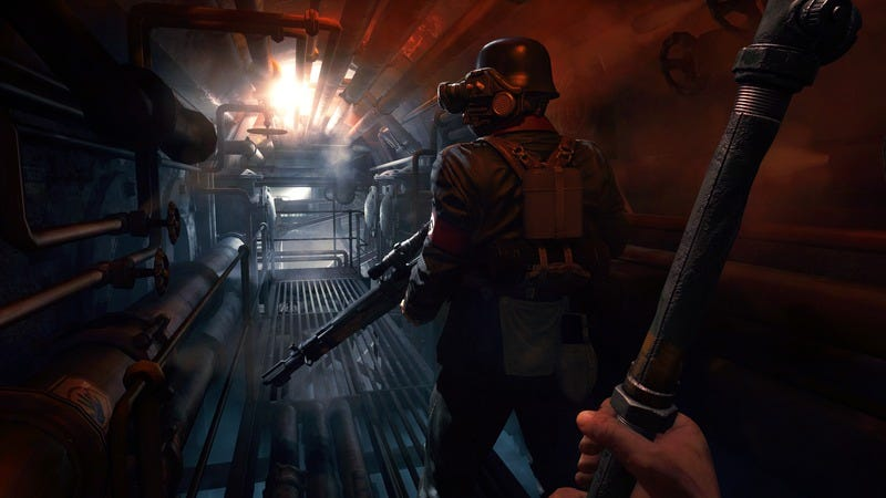 Wolfenstein: The Old Blood backs away from The New Order's strengths