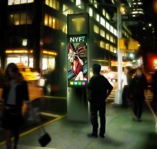 Illustration for article titled Este es el diseño que inspirará las futuras cabinas telefónicas de Nueva York