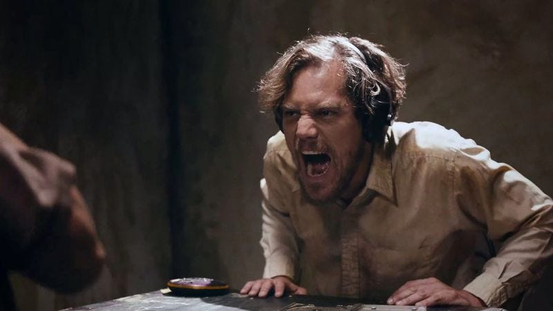 Illustration for article titled Michael Shannon goes absolutely insane in the new Deerhoof video