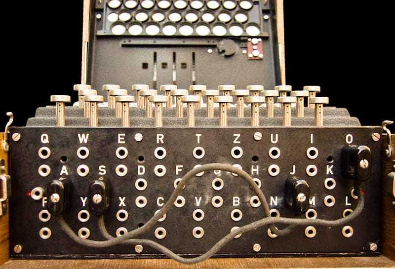 Illustration for article titled ​How The Enigma Machine Worked, In One Infographic