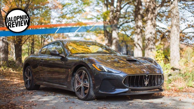 The 2018 Maserati GranTurismo MC Is A Magnificent Aural Dinosaur ...