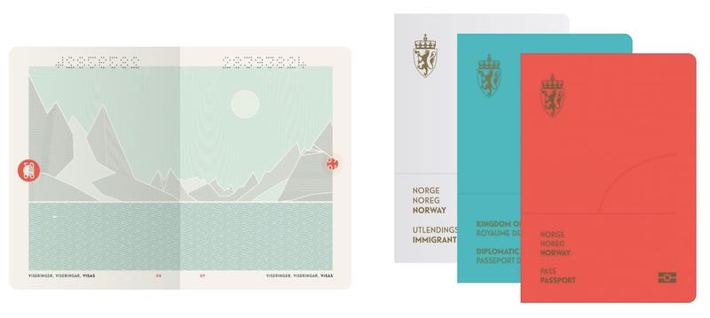 Illustration for article titled Now Norway Has the World's Prettiest Passport Too
