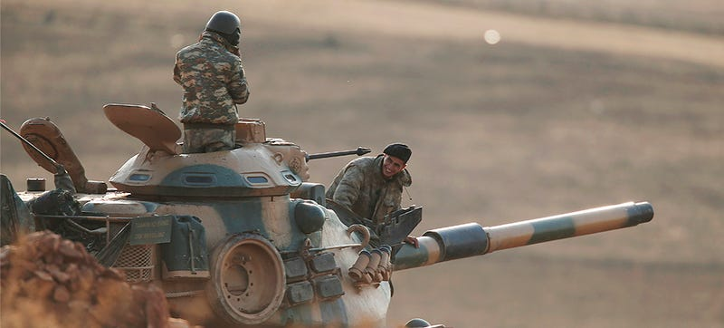 Illustration for article titled Turkey Sends Troops And Armor Into Iraq Without Approval In Mysterious Move
