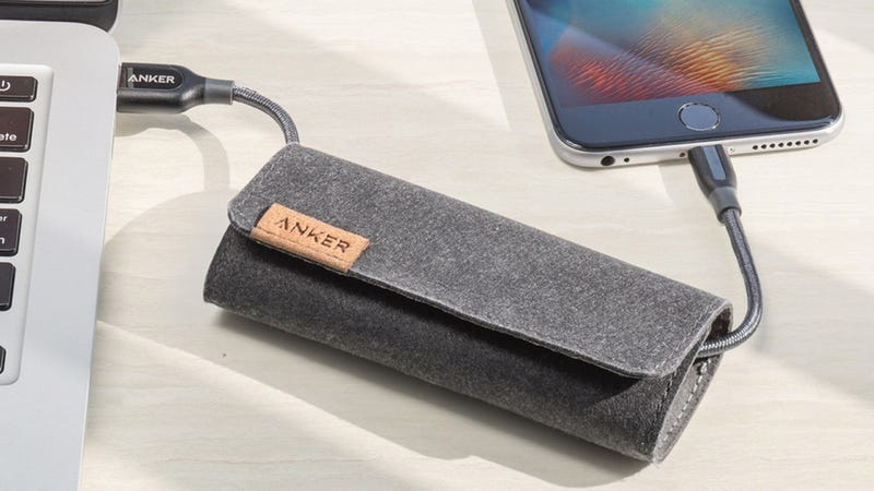 Anker PowerLine+ Lightning Cable | $10 | Amazon | Promo code ANKERA82