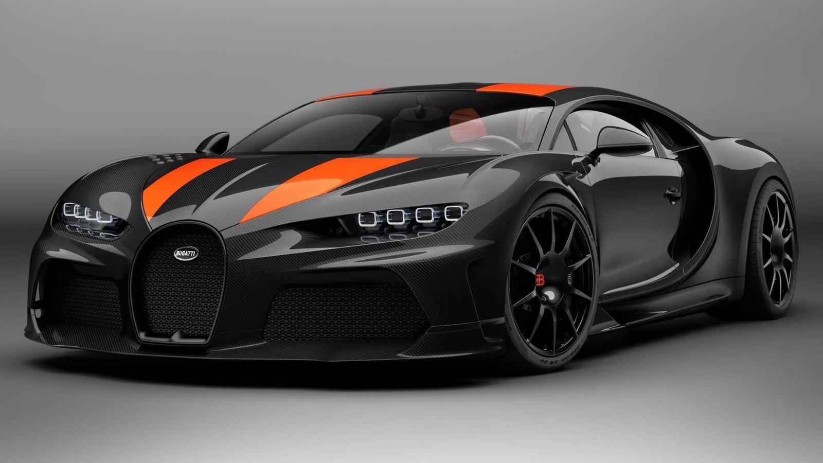 The Bugatti Chiron Super Sport 300+ Is A $4 Million Salute