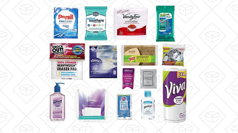 Household Essentials Sample Box, $15 with $15 credit