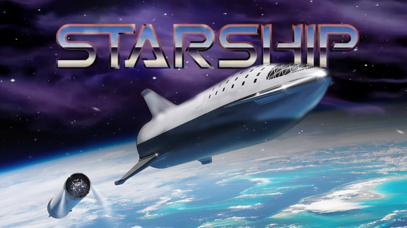 Illustration for article titled SpaceX Will Rename Big Falcon Rocket Project to 'Starship'