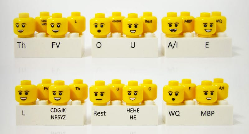 Illustration for article titled Making Stop-Motion Lego Movies Is Easier With Phonetic Minifig Heads