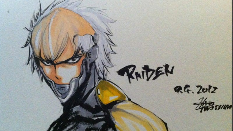 Illustration for article titled Raiden, You'd Make a Wonderful Teenage Manga Character