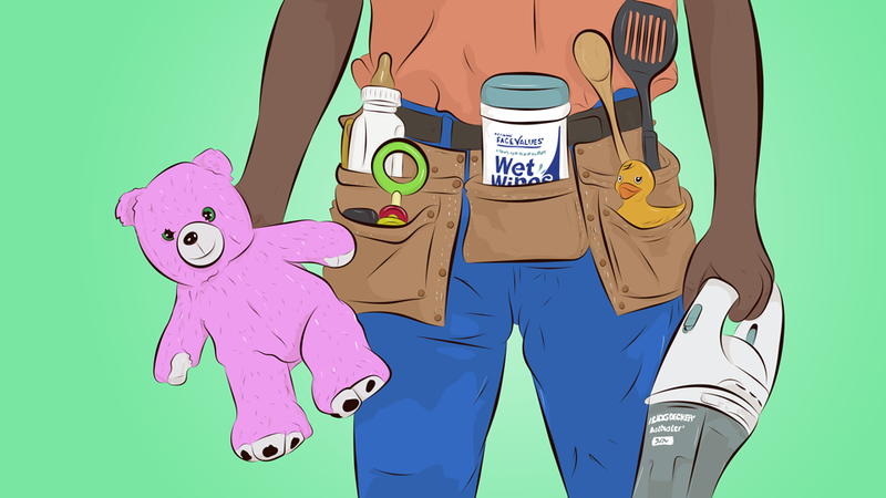 Illustration for article titled Stay-At-Home Dads Of The World, Unite!