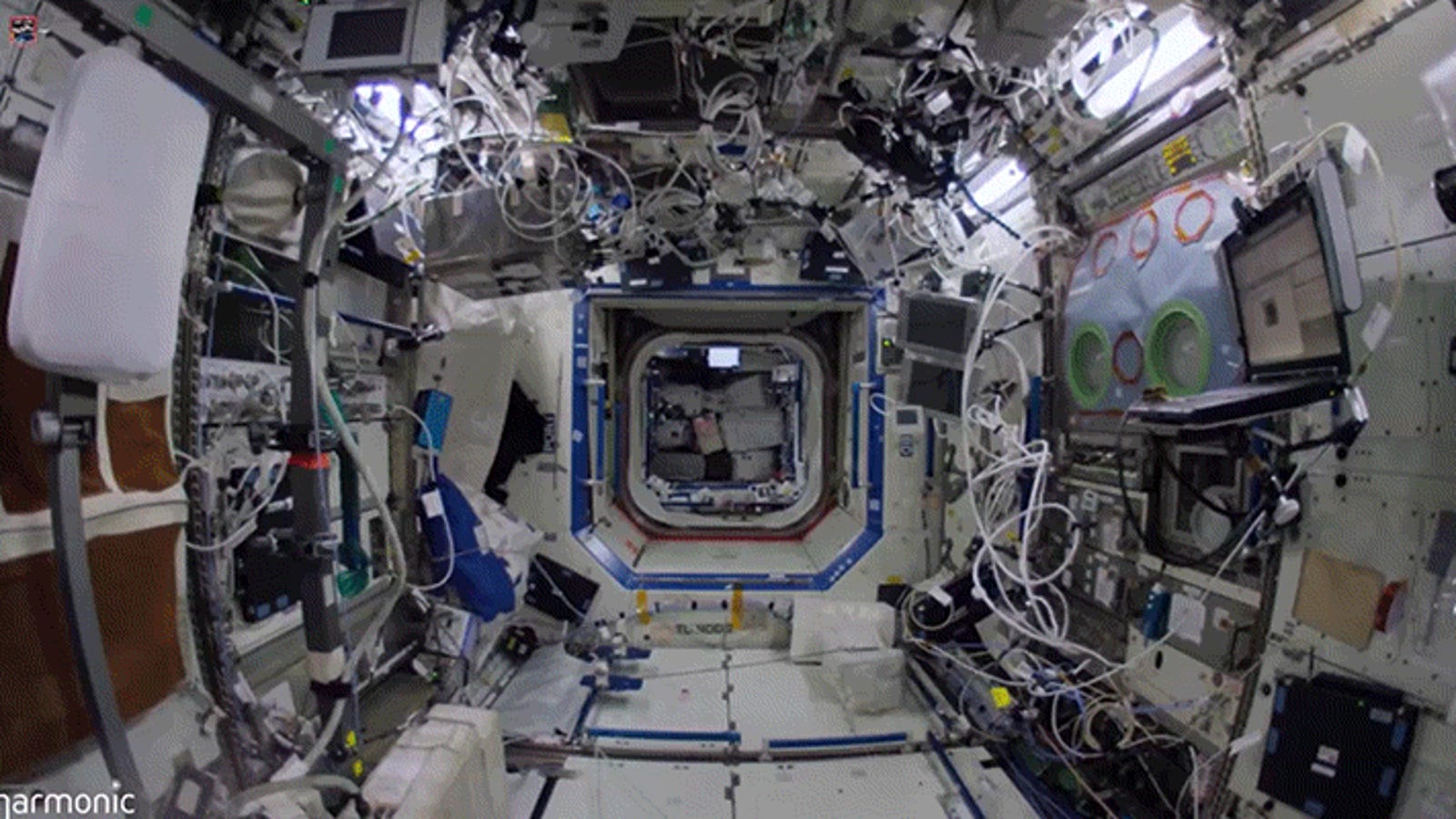 Float Through Every Detail of the International Space Station in 4K Glory