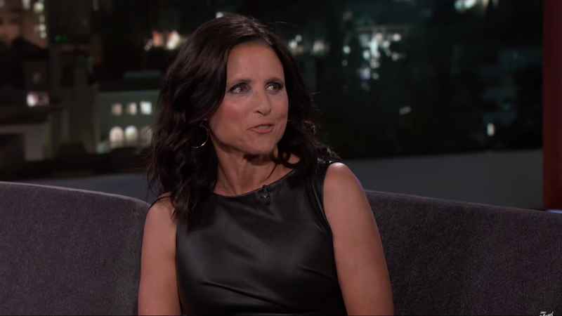 Illustration for article titled Last Night's Debate Felt a Little Too Similar to Veep for Julia Louis-Dreyfus