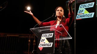 Director Ava DuVernay speaks onstage during ColorOfChange.org's 10-Year Anniversary Gala at Gotham Hall in New York City Oct. 5, 2015.Rob Kim/Getty Images for ColorOfChange