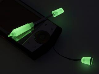 Illustration for article titled Luminous Handy Strap is Stylus, Ewok Jedi Lightsaber