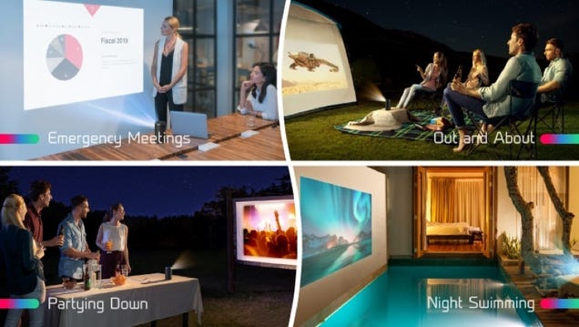 Last Chance to Preorder and Save On Anker s Pint-Sized Capsule II Portable Projector