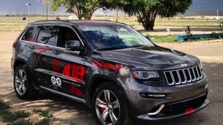 How Does a Jeep Grand Cherokee SRT Handle a Hot Track Day?