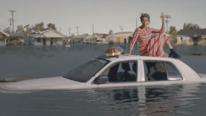 Illustration for article titled Beyoncé drops new, Hurricane Katrina-heavy video