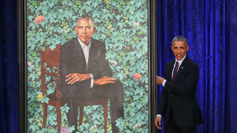 "Sean Hannity thinks there is ""secret sperm"" hiding in Obama's presidential portrait"