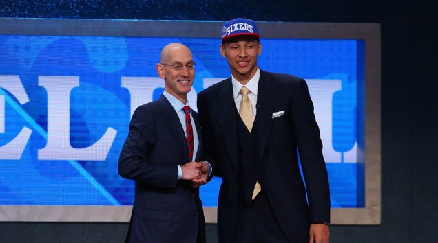 Sixers Select Ben Simmons With The First Pick In The NBA Draft