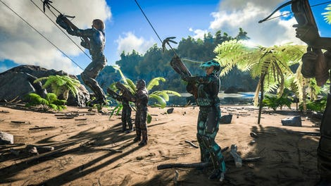 Ark: Survival Evolved Horse Taming Is Almost Exactly Like