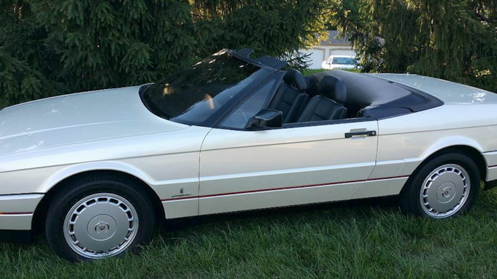 For 8900 This Low Mileage 1992 Cadillac Allante Could Be An Unfulfilled Dream Fulfilled