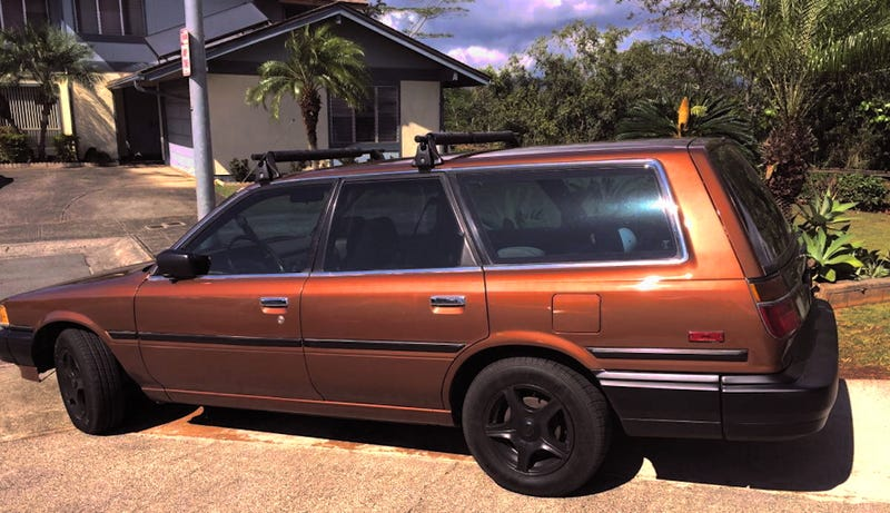 for 5 500 would this hawaiian 1987 toyota camry wagon. Black Bedroom Furniture Sets. Home Design Ideas