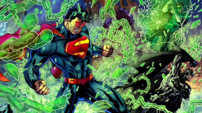 "Illustration for article titled Geoff Johns Says a Great Superman Video Game Needs the ""Right Studio"""