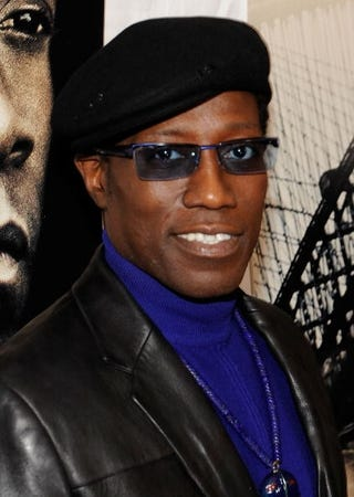 Action star Wesley Snipes reports to prison.