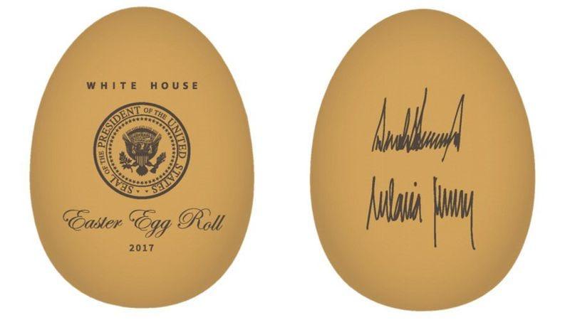 The 2017 White House Easter Egg prototype