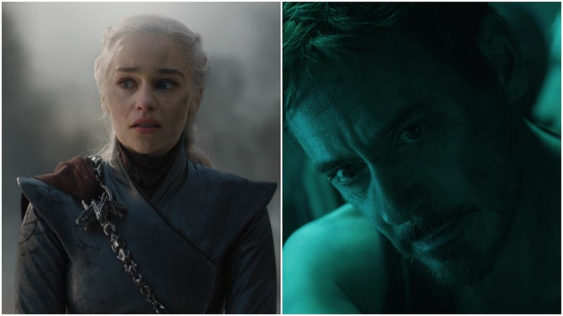 Illustration for article titled Endgame and Game Of Thrones were basically telling the same story, but only one nailed the ending