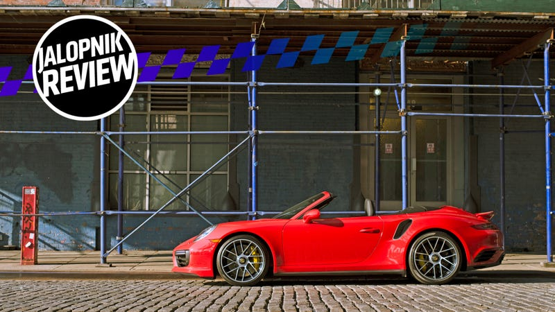 The 2018 Porsche 911 Turbo S Cabriolet Is The Best Way To Kill