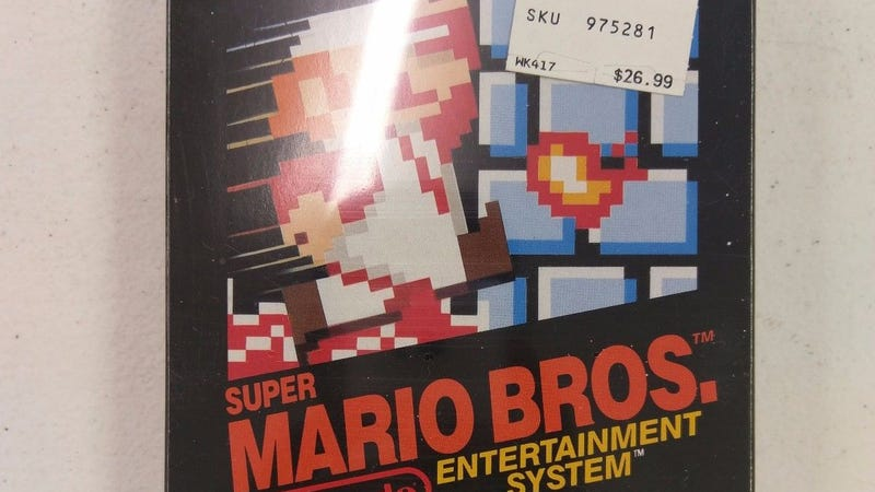 Illustration for article titled Sealed Copy Of Super Mario Bros. Sells For $30,000