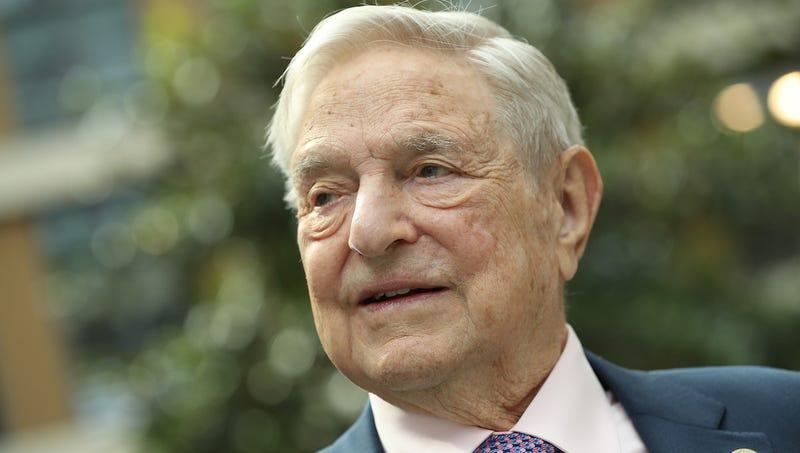 George Soros in Berlin, Germany on June 8, 2017
