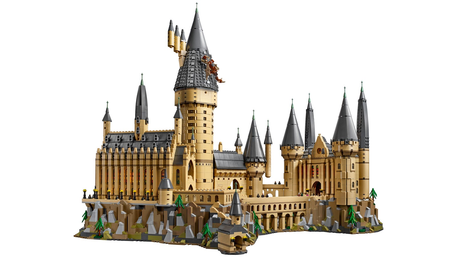 Harry Potter Book Set Big W : Lego s new piece hogwarts castle set is huge and pricey