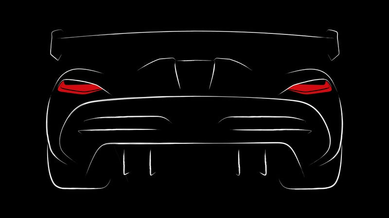 Illustration for article titled Here's The First Look At Koenigsegg's Next Supercar
