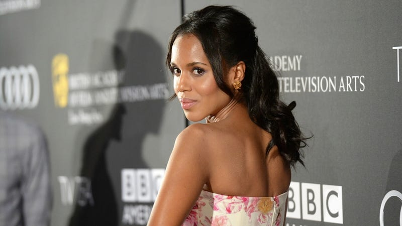 Illustration for article titled Kerry Washington Winning an Emmy Tonight Would Be a Huge Deal