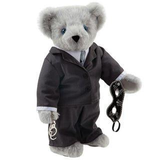 Illustration for article titled Holy Crap, This Is a '50 Shades of Grey' Teddy Bear