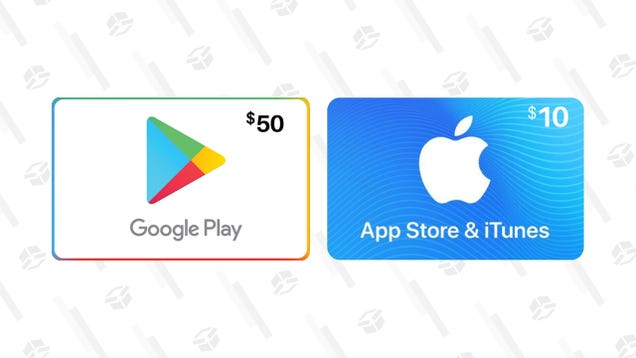 Save a Few Bucks on Google and Apple Gift Cards Right Now